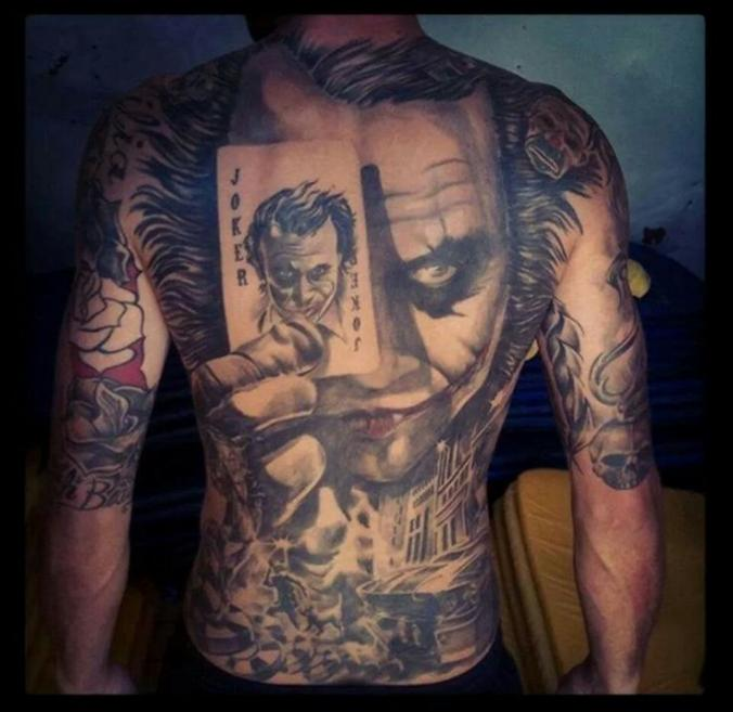spiderman world\'s coolest superhero tattoo