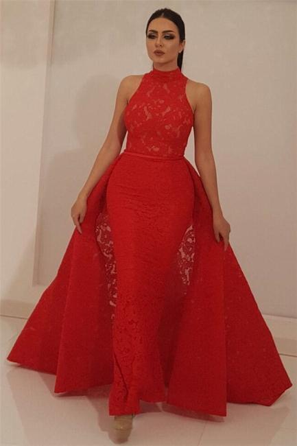 Schone Abendkleider Lang Rot Abiballkleider Spitze Gunstig